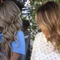 Модное мелирование на темно- и светло- русые волосы 2019
