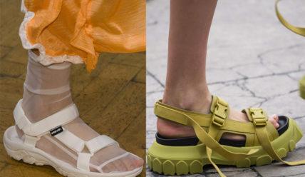 Модные женские сандали лето 2019