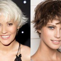 Стрижка Аврора на короткие волосы 2019: вид сзади и спереди, фото для круглого лица, видео, техника выполнения