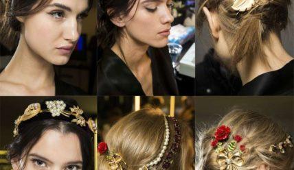 Модные и красивые заколки для волос 2019 фото