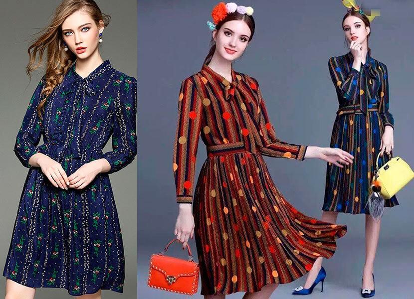 84aeae58c2f Повседневные платья весна-лето 2019  модные тенденции
