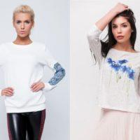 Модные женские свитшоты и лонгсливы сезона весна-лето 2019