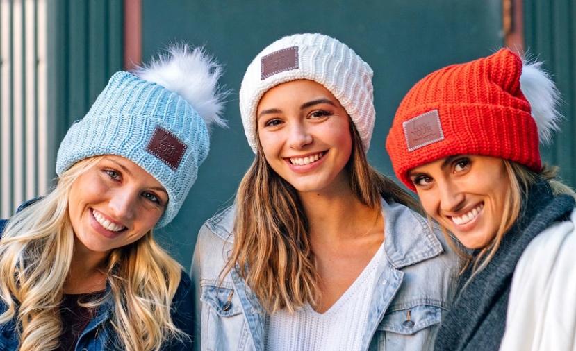 Вязаные шапки осень - зима 2019 - 2020
