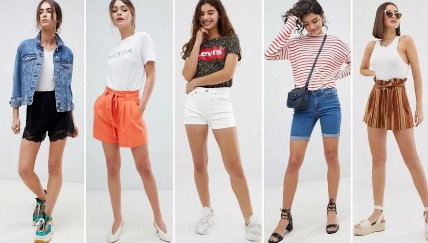 Топ 5 образов с шортами лета 2020