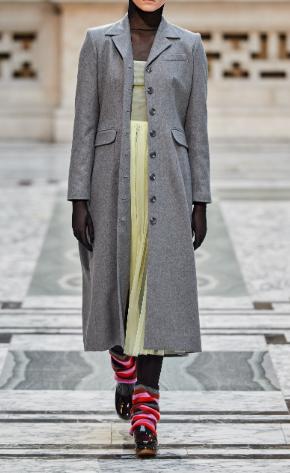 Пальто-шинель от Molly Goddard
