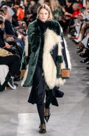 Пальто от Sacai 2019-2020