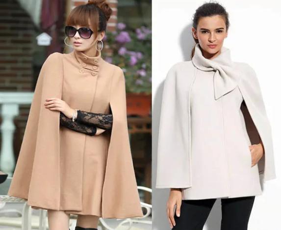 Женское пальто Кейп 2019-2020