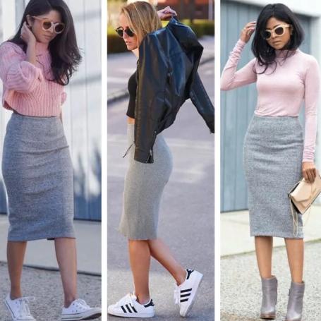 Женские свитера 2021-2022: (ТОП 25 стильных образов с юбками и без)