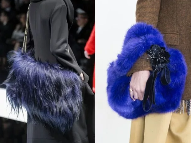 модные сумки из меха 2020