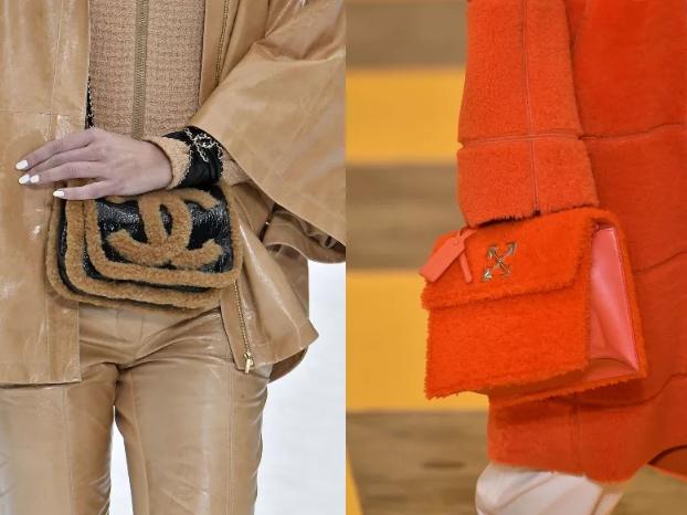 модные меховые сумки 2020