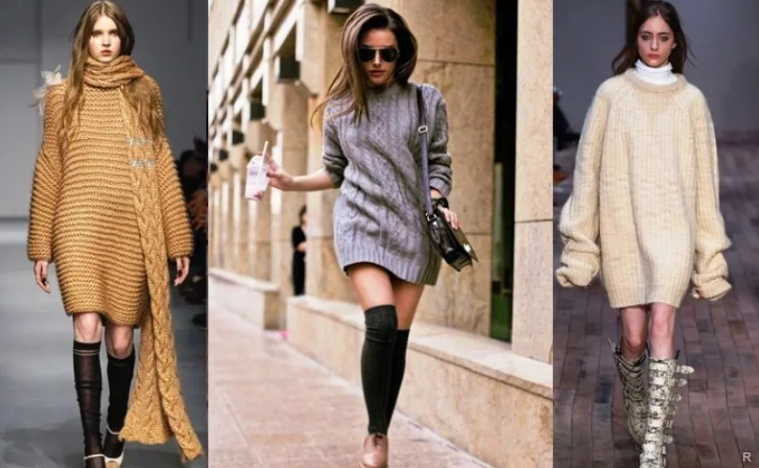 модные платья зима 2020