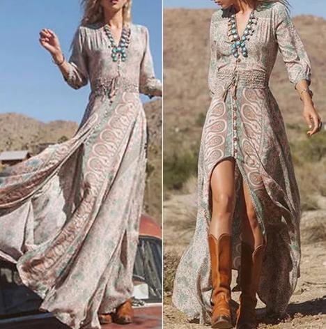 платье в стиле дикий запад 2020