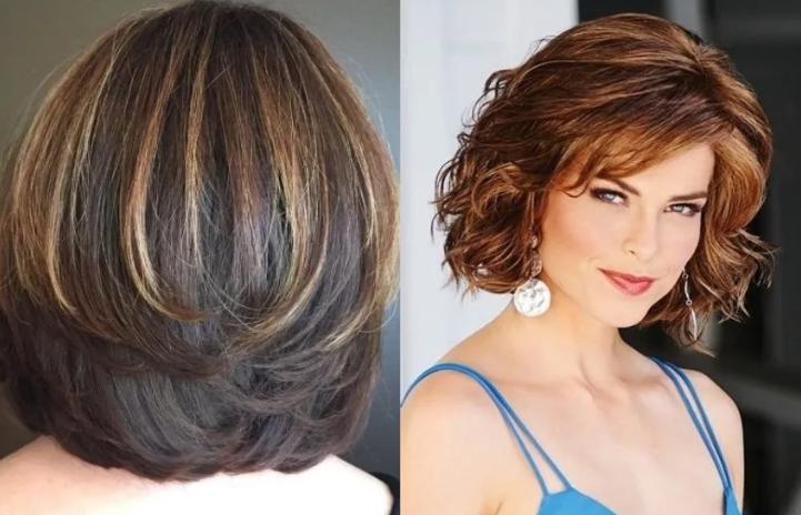 Модные женские стрижки на средние волосы 2020