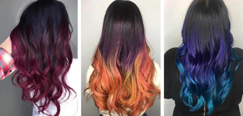 Модное окрашивание 2020 на средние волосы