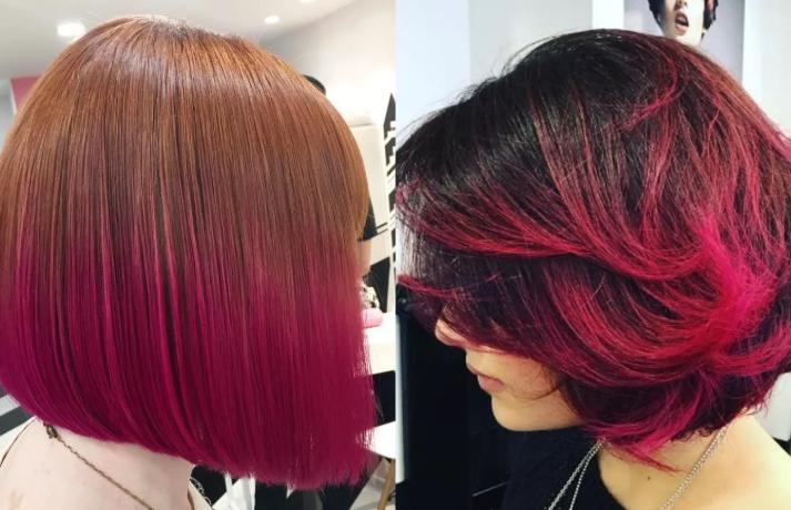 Модное окрашивание 2020 на короткие волосы