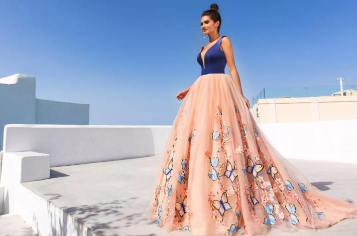 модное выпускное платье 2020 года