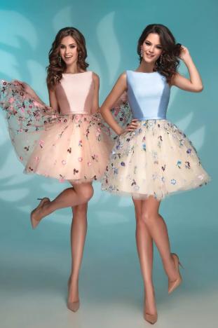 платье на выпускной 2020 короткое