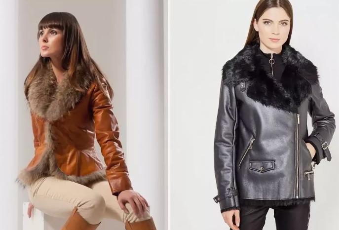 Женские кожаные куртки 2020