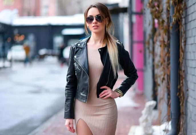 модные кожаные куртки 2020 женские