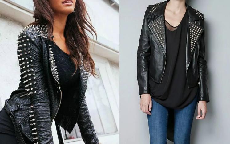 женские кожаные куртки 2020 тренды