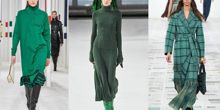 модные цвета осени зима 2020-2021