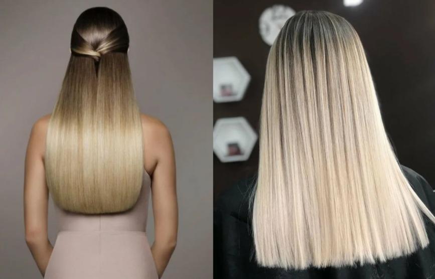 ровный срез - стрижки на длинные волосы 2021-2022