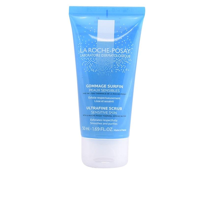 La Roche-Posay Ultrafine scrub не оставляет ощущения стянутости и сухости