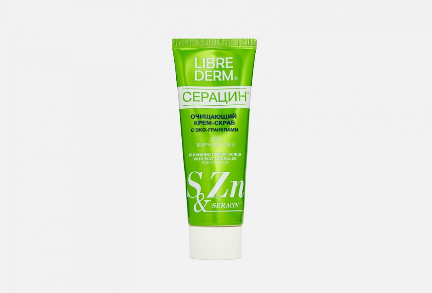 популярный продукт Librederm Серацин очищающий с эко-гранулами