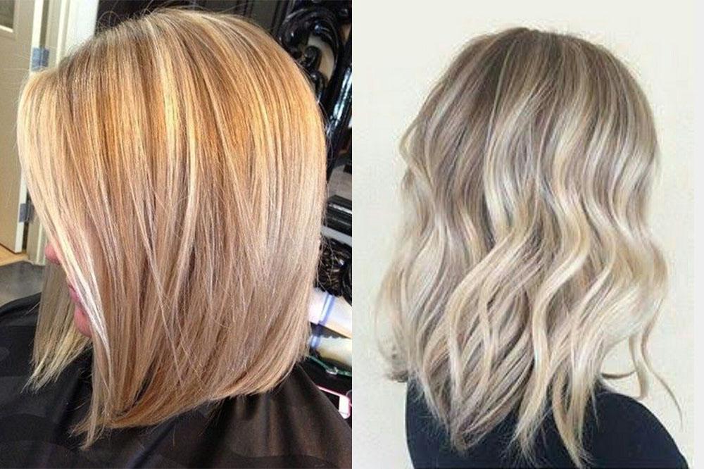 мелирование на русые волосы средней длины фото 4
