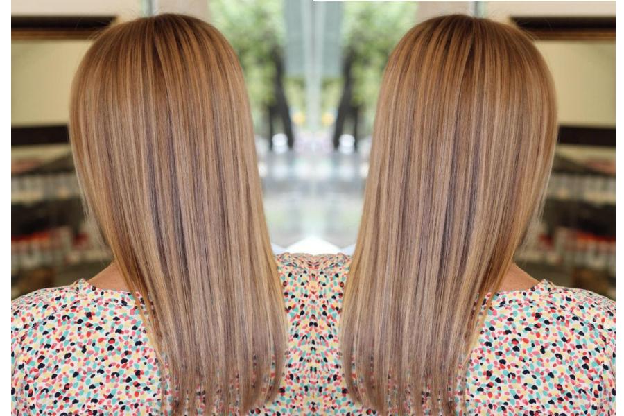 мелирование на длинные волосы русого цвета фото 4