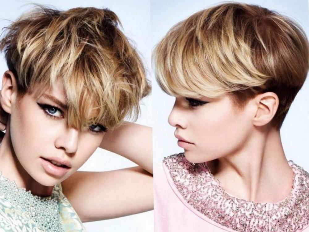 мелирование русых волос короткой длины фото 2