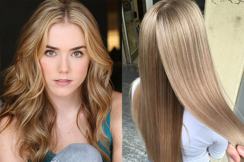 на светло-русые волосы фото 1