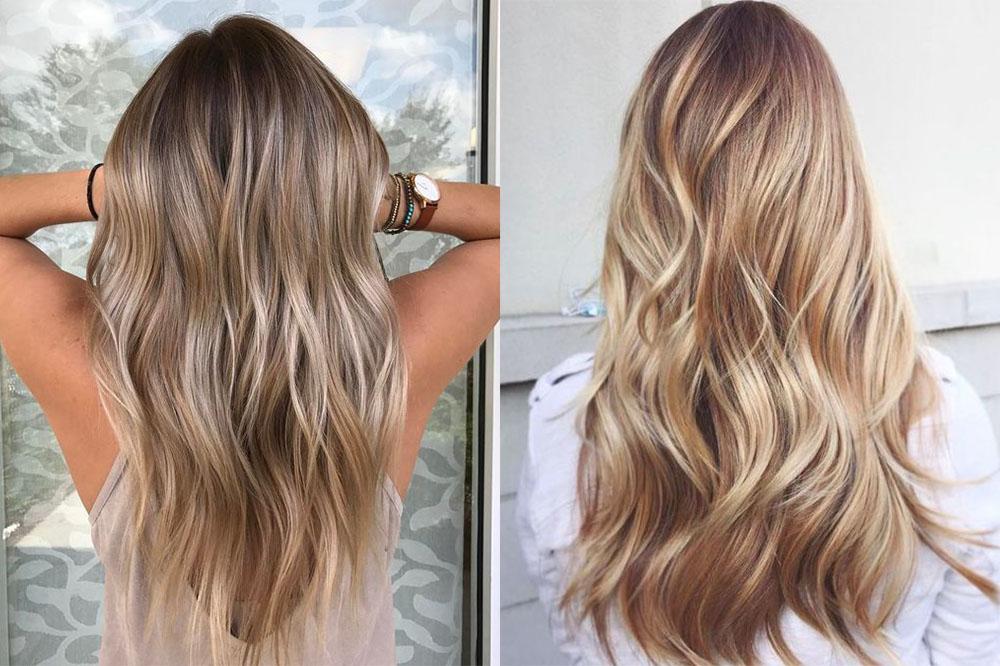 мелирование на русые волосы, модные тенденции и тренды фото 2019 3