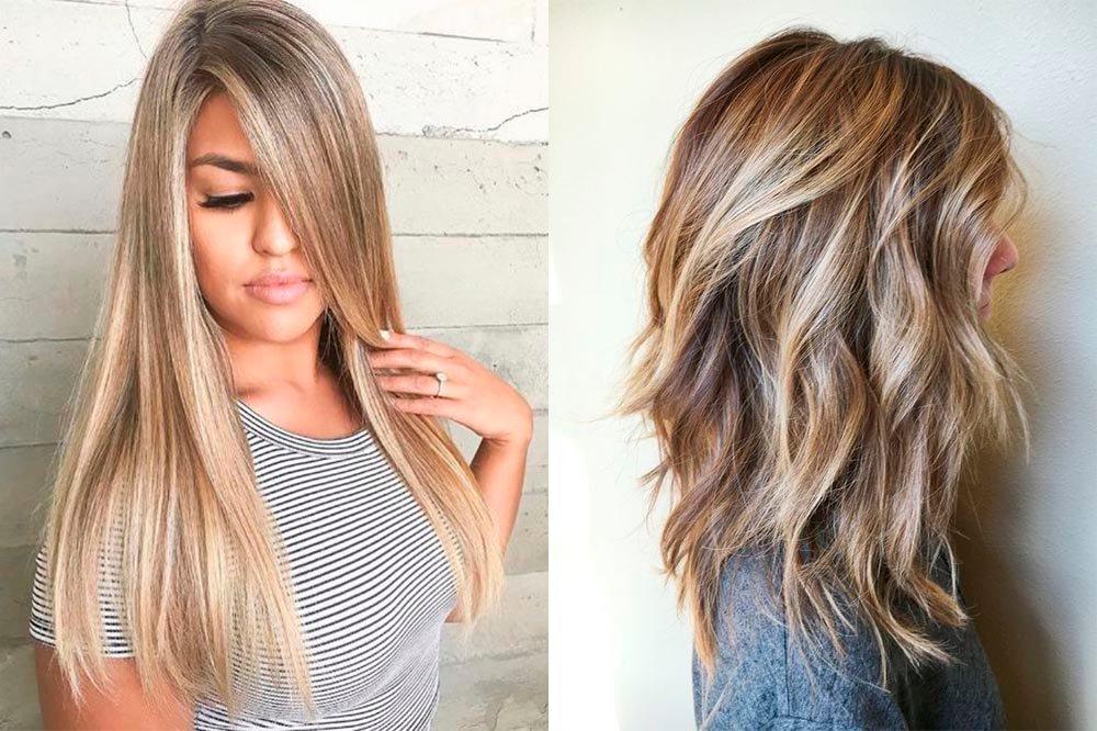 модное мелирование на русые волосы 2019, тенденции и тренды на фото 4