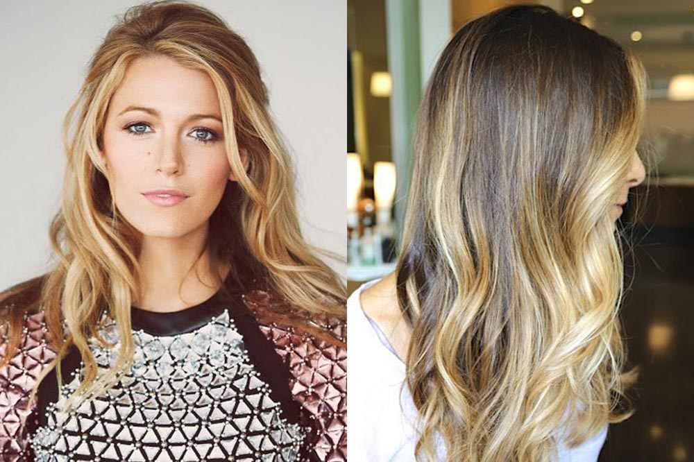 мелирование на русые волосы, модные тенденции и тренды фото 2019 9