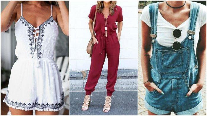 самые модные женские комбинезоны весна-лето 2019, тренды и тенденции на фото 1