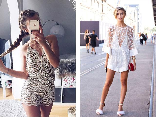 модные летние комбинезоны 2019, фасоны весна-лето фото 2