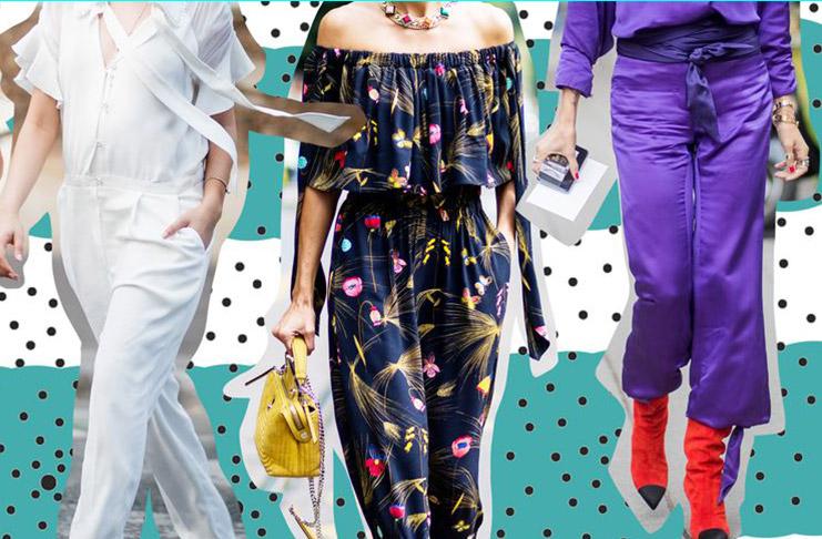 самые модные женские комбинезоны весна-лето 2019, тренды и тенденции на фото 4