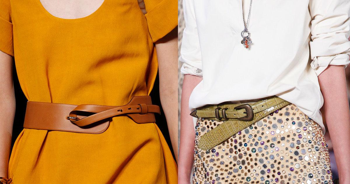 модные женские ремни и пояса весна-лето 2019 фото 1