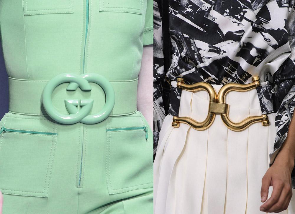 модные женские ремни и пояса весна-лето 2019 фото 2