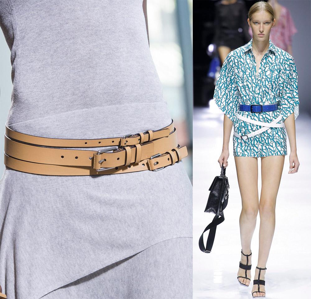 модные ремни и пояса весна-лето 2019, фото новинки 3