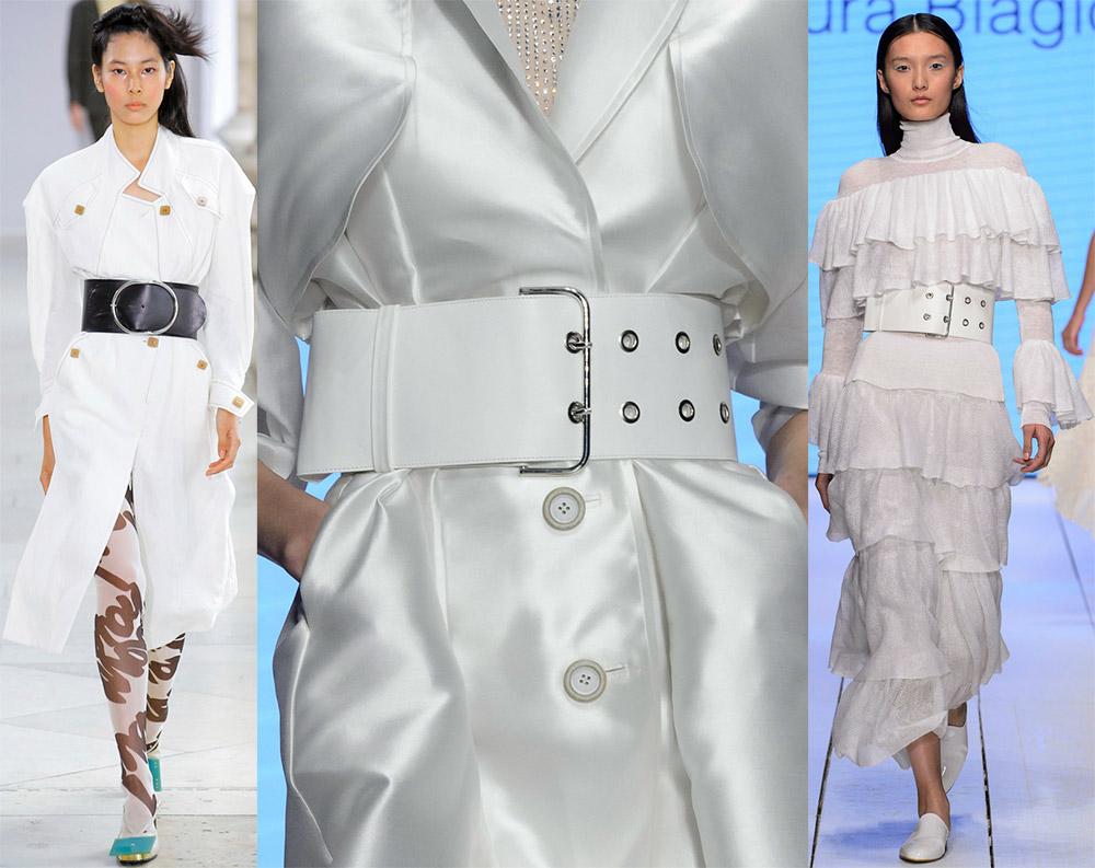 модные ремни и пояса весна-лето 2019, фото новинки 5