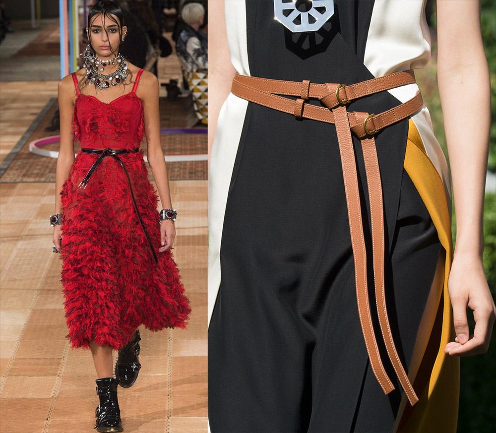 модные женские ремни и пояса весна-лето 2019 фото 4