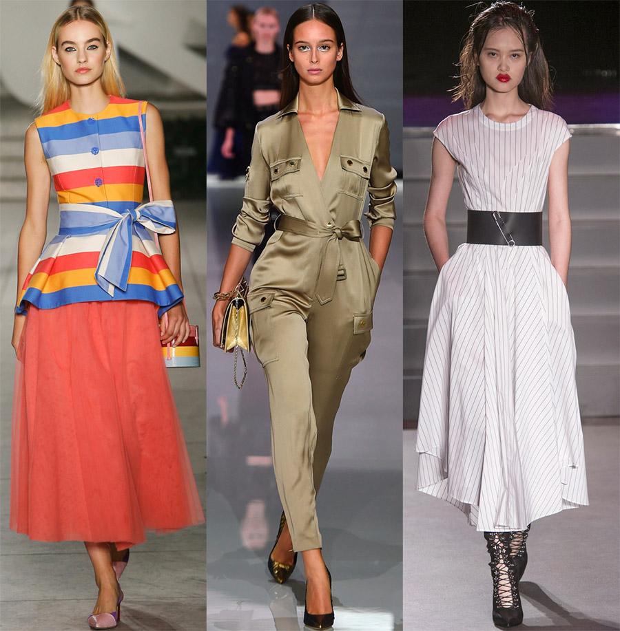 модные женские ремни и пояса весна-лето 2019 фото 6