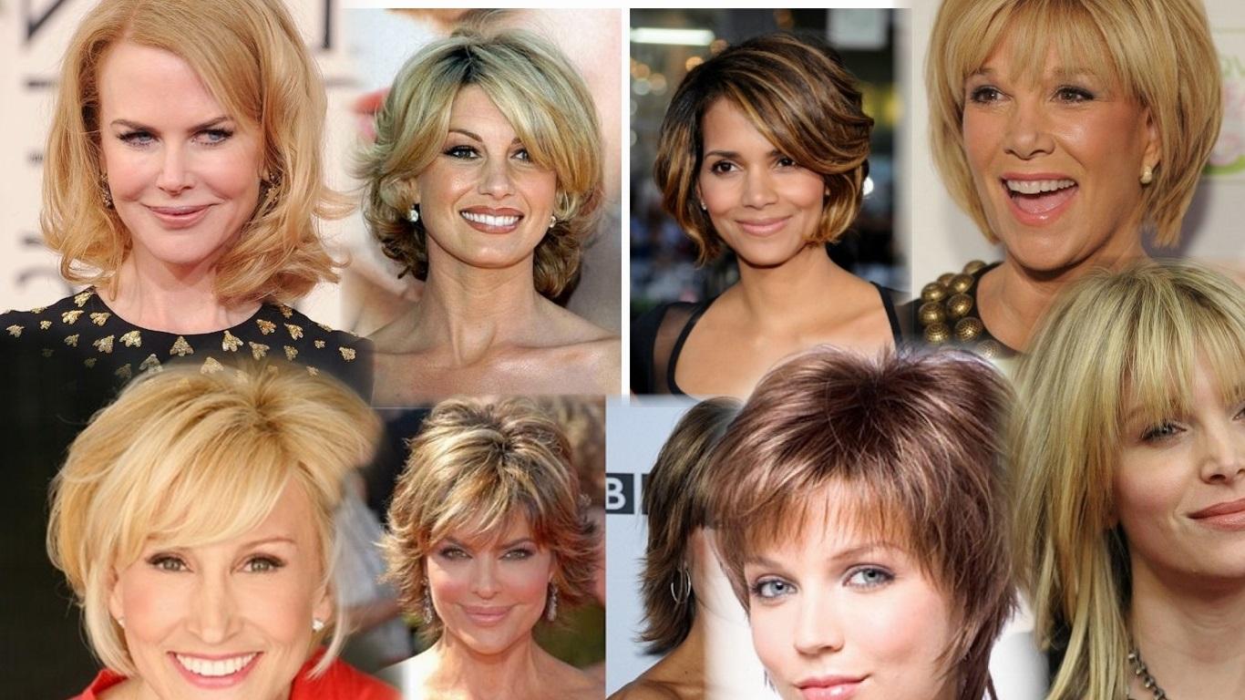 модные стрижки 2019 на короткие волосы для женщин за 50 лет, фото новинки 6