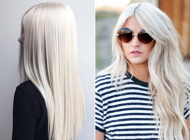 модный блонд 2019, тенденции и тренды на длинные, средние и короткие волосы фото 2