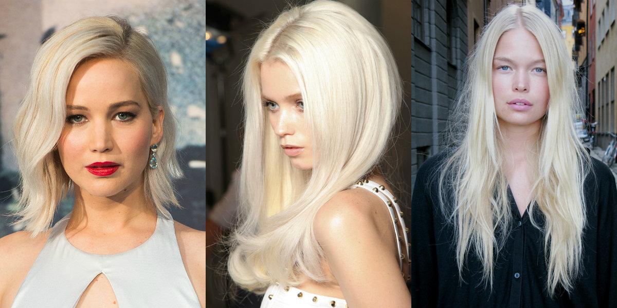 модный блонд 2019, тенденции и тренды на длинные, средние и короткие волосы фото 3