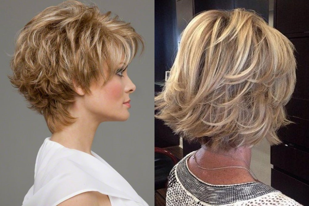 модная и красивая стрижка Аврора на короткие волосы 2019, фото и видео 2