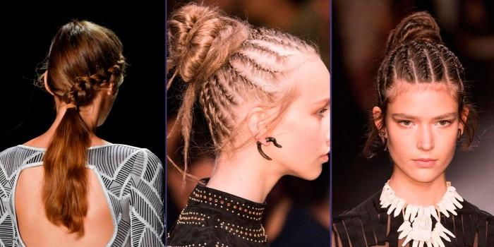 многообразие модных вечерних причесок сезона весна-лето 2019, фото новинки 3
