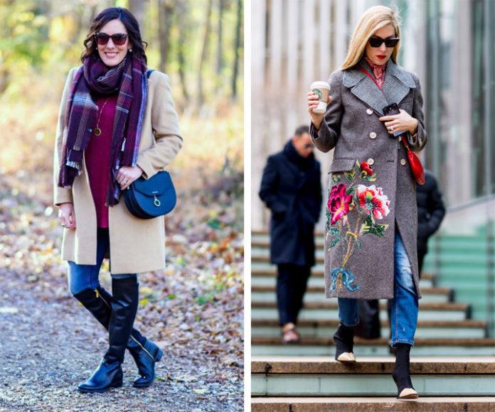 кашемировые, вязаные и драповые пальто фото 5